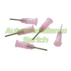 Pipeta de acero para ciano UR (5u)