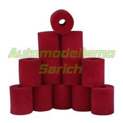 Espumas filtro de aire aceitadas para Losi/Serpent UR (12u)