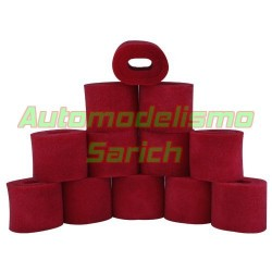 Espumas filtro de aire aceitadas para Kyosho UR (12u)
