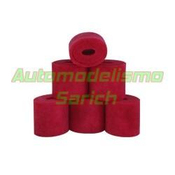 Espumas filtro de aire aceitadas UR (6u)