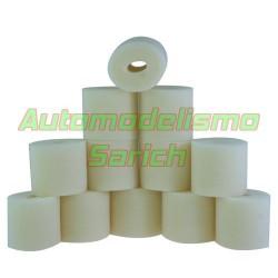 Espumas filtro de aire sin aceitar para Mugen UR (12u)