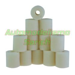 Espumas filtro de aire sin aceitar para Losi/Serpent UR (12u)