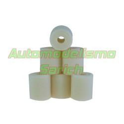 Espumas filtro de aire sin aceitar para Losi/Serpent UR (6u)
