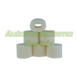 Espumas filtro de aire sin aceitar para Kyosho UR (6u)