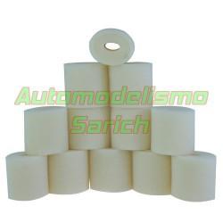 Espumas filtro de aire sin aceitar UR (12u)