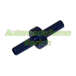 Conector tubo de gasolina azul (1u)