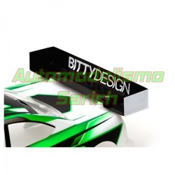 Alerón lexan 1mm 190mm ULTRA CHARGE Bitty Design