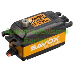 Savox SC1251MG Low Profile