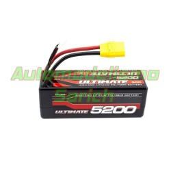 Batería Ultimate LiPo 14.8V 4S 5.200mha 60C