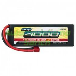 Batería Duratrax Li-Po 7.4V 4.000mha 25C