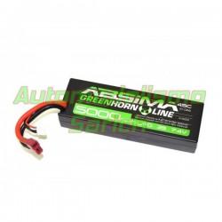 Batería Absima LiPo 7.4V 2S 5.000mha 45C