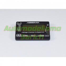 Comprobador de baterías y balanceo de Absima