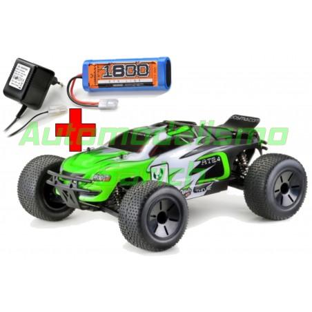 Truggy AT2.4 RTR 4WD Brushed + Batería y cargador