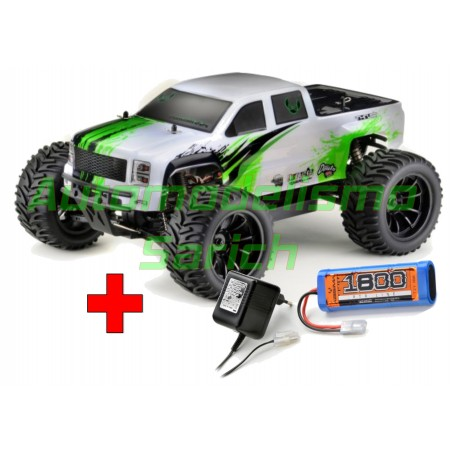 Monster Truck AMT2.4 RTR 4WD Brushed + Batería y cargador