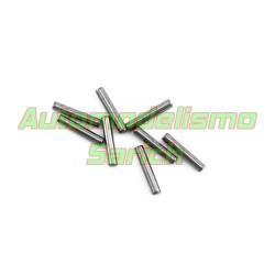 Pin hexágono de rueda 3x16'8mm MBX7R