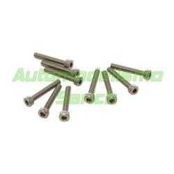 Tornillos cilíndricos 3x25mm (10u)