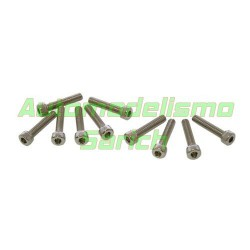 Tornillos cilíndricos 4x20mm (10u)