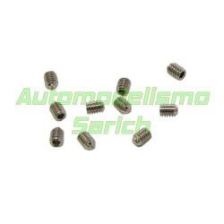 Tornillos avellanados 2x6mm (10u)