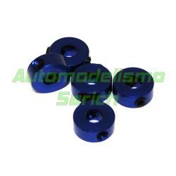 Prisioneros 2mm azules UR (5u)