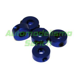 Prisioneros 4mm azules UR (5u)