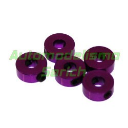 Prisioneros 4mm purpura UR (5u)