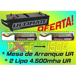 "PACK Ultimate ""Starter Box"" + 2 Baterías LiPo"