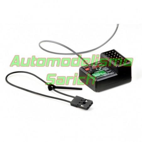 Emisora Absima 2.4Ghz CR6P 6CH + 1 Receptor