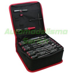 Maletin de herramientas + 19 herramientas PRO UR