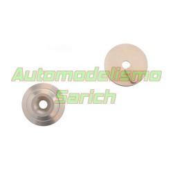 Arandela aluminio del alerón 2 posiciones MBX7R