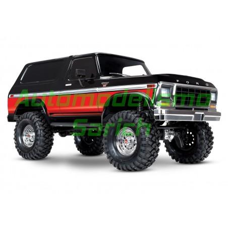 Traxxas TRX4 Ford Bronco (Nego/Rojo)