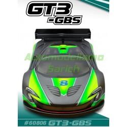 Carrocería GT3 GBS + Alerón GT Blitz