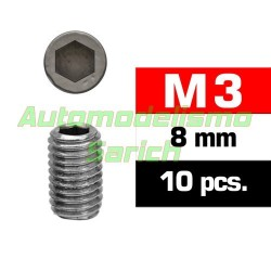 Prisioneros 3x8mm (10u)