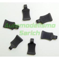 Tiradores de clips (6unid.) Absima