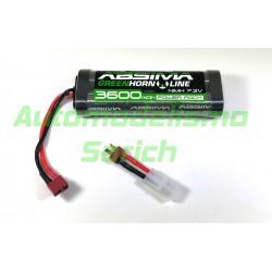 Batería Absima Ni-Mh 3600mah 7.2V