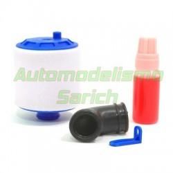 Filtro buggy 1/10 azul Fastrax