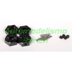 Hexágonos de rueda 12mm Axial Racing