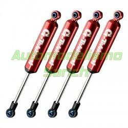 Amortiguadores Crawler 90mm G-Transmition rojos (4unid.) GMADE