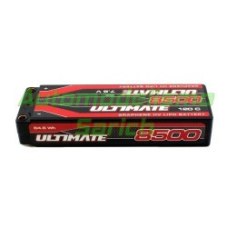 Batería Ultimate LiPo grafeno Stick 7.6V 2S 8.500mha 120C 5mm