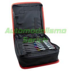 Maletin de herramientas + 6 herramientas PRO UR