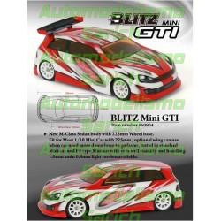 Carrocería GTI 225mm Tamiya M Blitz
