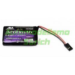Batería LiPo 3200mAh 3.7V Sanwa MT-44