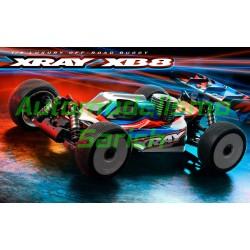 Xray XB8'21 Buggy 1/8TT