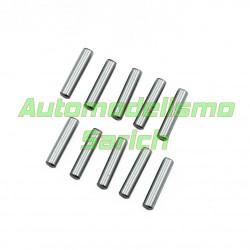 Pins acero cromado 3x13.8mm UR