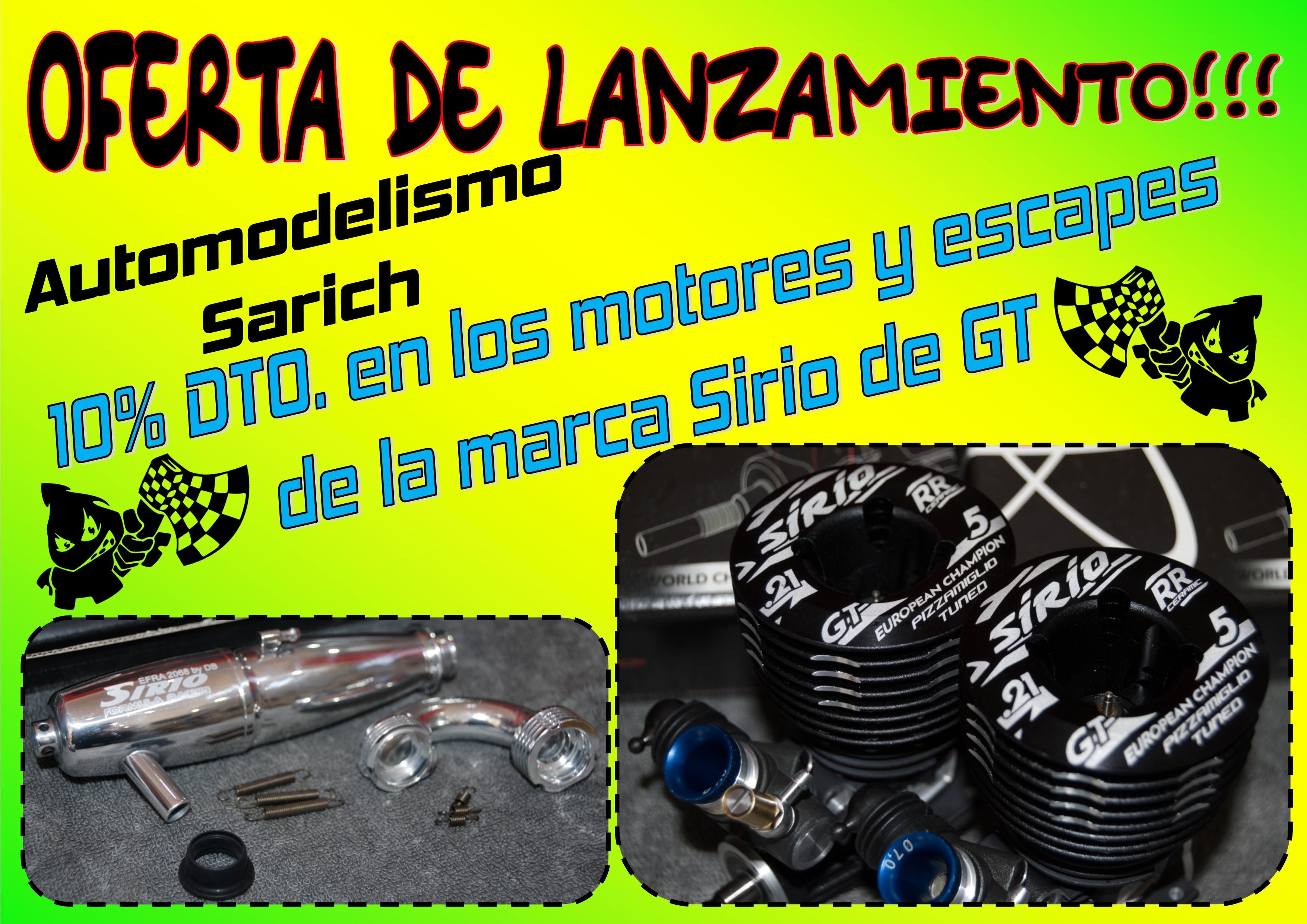 Motores Sirio GT